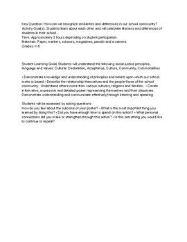 Social Justice Collaborative Project