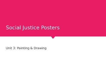 Social Justice / Human Rights Art Project PowerPoint Presentation