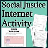 Social Justice Online Activity