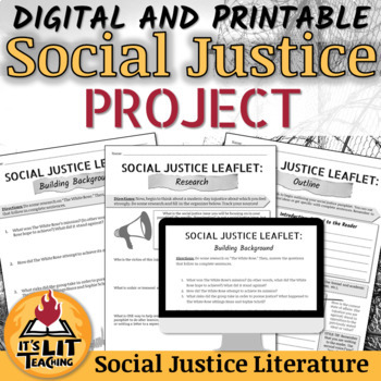 Social Justice Leaflet Mini-Research Project