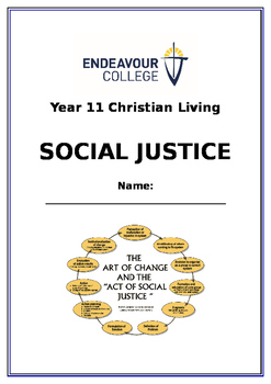 Social Justice - Student Workbook