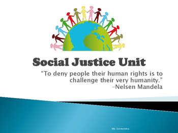 Common Core Social Justice Unit Bundle