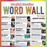 Social Justice Word Wall