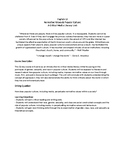 Social Justice and English Normative Values Syllabus