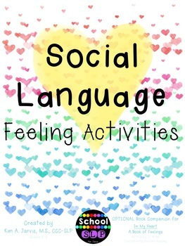 Social Language Activities: In My Heart