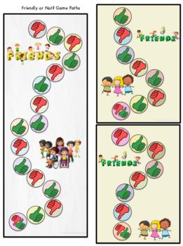 Social Skills Activities | Friendly or Not? | A Friendship Rules Free Bonus Set