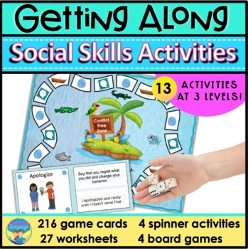 Social Skills Activities | Problem Solving | Taking Perspectives | Getting Along