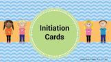 Social Language Initiation Cards