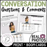 Taking Turns in Conversation: Questions and Comments