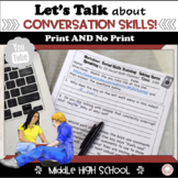 #distancelearning Social Conversation Skills for Middle and High School