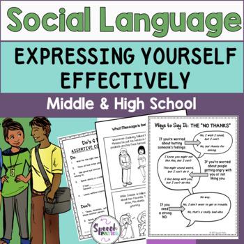 Social Language: Middle & High School