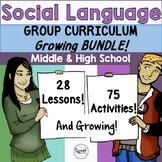 Social Language: Middle & High School Bundle