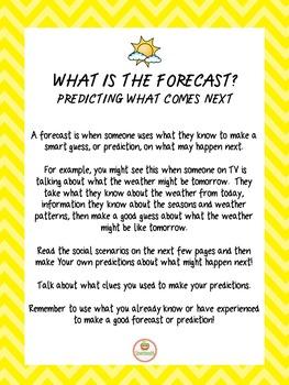 Social Skills Weather Spring