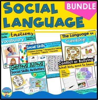 Social Language Skills Bundle- Pragmatics, Problem Solving