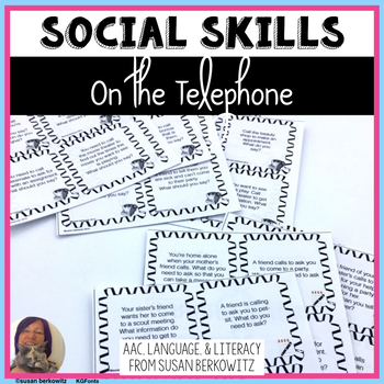 Social Language Skills _ On the Telephone for Speech Language Therapy