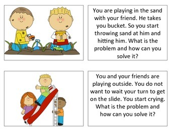 Social Language Thinking Cards