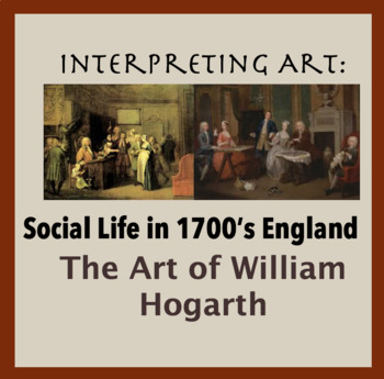 Social Life in 1700s in England; through the art of William Hogarth; Gender