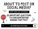 Social Media: 22 Questions to Ask Before Posting - Digital