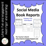 Social Media Book Report Templates