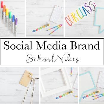 Social Media Brand for Teacherpreneurs School Vibes