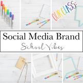 Social Media Brand for Teacherpreneurs|School Vibes