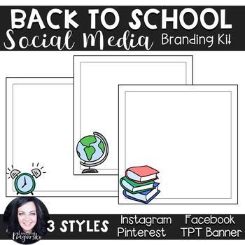 Social Media Branding Kit (Back to School)