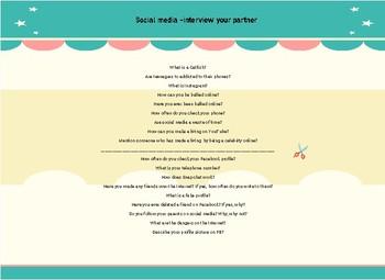 Social Media CL questions