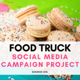 Food Truck Social Media Marketing Campaign Project