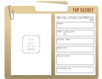 Social Media Character Profile Project for Any Book!