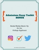 Social Media Check-Up for the College Applicant