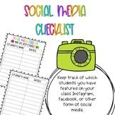 Social Media Checklist!!