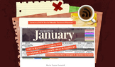 Social Media Content Calendar January 2019