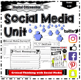 Social Media Critical Thinking Worksheets