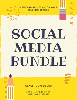 Social Media Decor Bundle