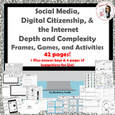 Social Media, Digital Citizenship, & the Internet Depth & Complexity Bundle