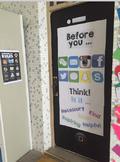 Social Media Door