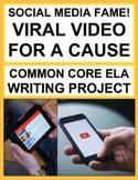 Social Media ELA Activity: Create a Viral Video for Good!
