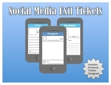 Social Media Exit Tickets - 3 Pack