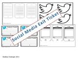 Social Media Exit Tickets