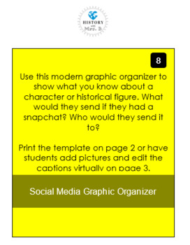 Social Media Graphic Organizer