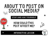 Social Media: How Could This Post Affect Me? Digital Citiz