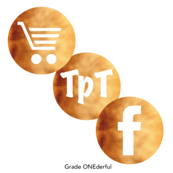 Social Media Icons: Copper Foil, Round, 24 Different Kinds, Two Sizes