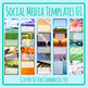 Social Media Image Templates - Instagram, Facebook, etc - Pictures Copy Space 01