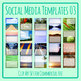 Social Media Image Templates - Instagram, Facebook, etc - Pictures Copy Space 03