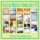 Social Media Image Templates - Instagram, Facebook, etc - Pictures Copy Space 09