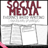 Social Media Opinion Writing Prompt