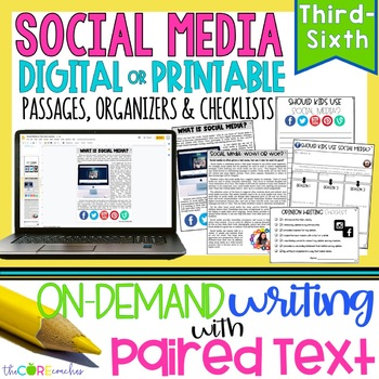 Social Media Paired Texts: Great For Argumentative, Opinio