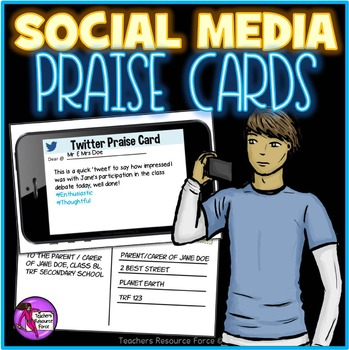 Social Media Praise Cards Rewards