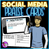 Social Media Praise Cards Rewards