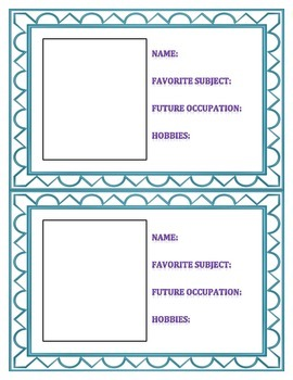 Social Media Profile Cards